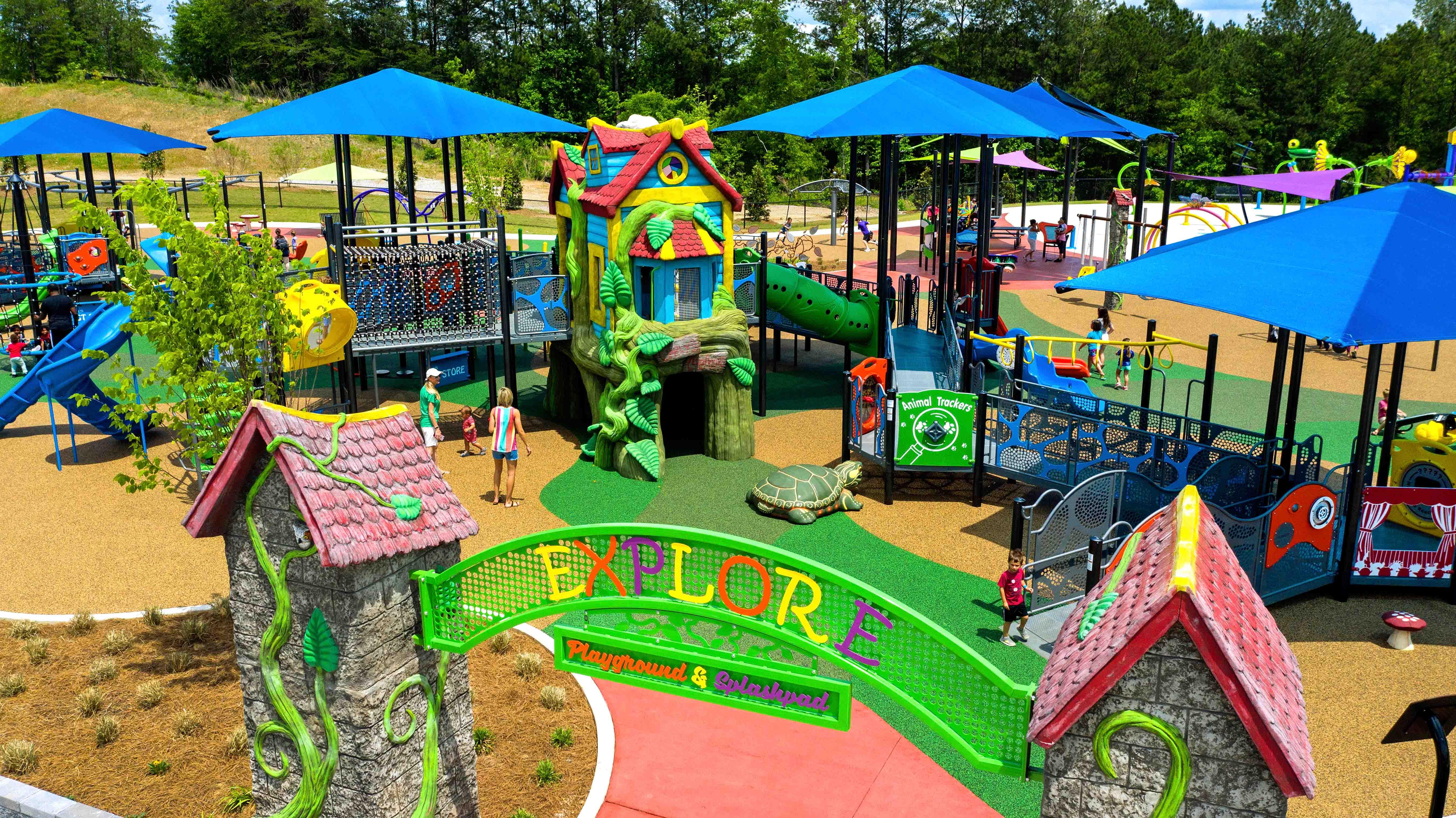 playground site amenities